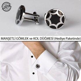 eJOYA Gömlek ve Kol Düğmesi GK03