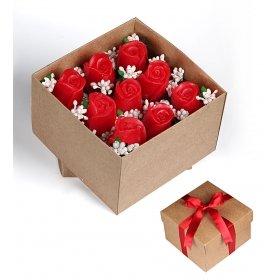 eJOYA Kırmızı Güller Hediye Kutusu