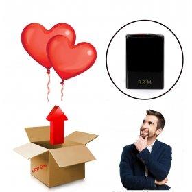 eJOYA Sürpriz Uçan Kalp Balonlu Çakmak Hediye Paketi