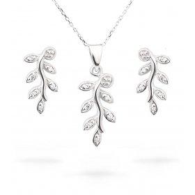 eJOYA Zircone Taşlı Gümüş Takım UCLRT334