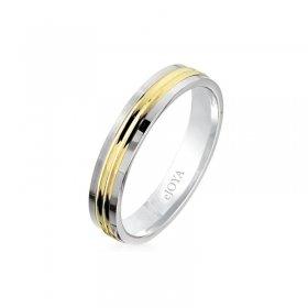 eJOYA 14 Ayar Altın Alyans 4mm