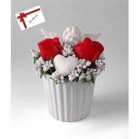 eJOYA Gifts Güller ve Melekler Kırmızı