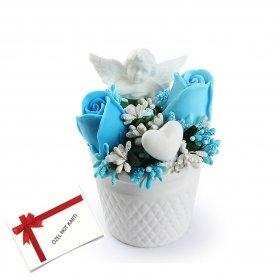 eJOYA Gifts Güller ve Melekler Mavi