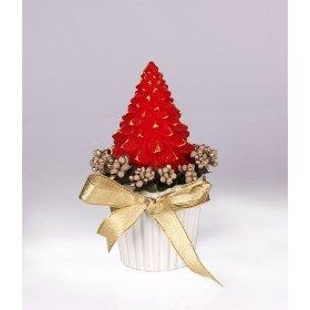 eJOYA Gifts Yeni Yıl Çam Ağacı Kırmızı