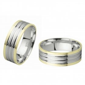 eJOYA Gümüş Alyans C1008
