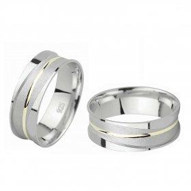 eJOYA Gümüş Alyans C1026