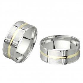 eJOYA Gümüş Alyans C1068