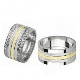 eJOYA Gümüş Alyans P1056