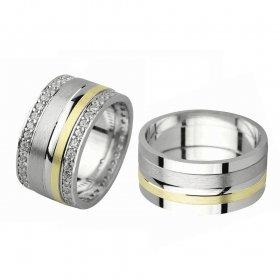 eJOYA Gümüş Alyans P1075