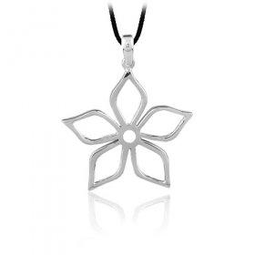 eJOYA Gümüş Çiçek Kolye
