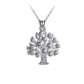 eJOYA Hayat Ağacı Gümüş Kolye