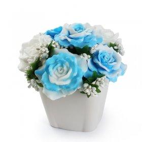 eJOYA Hoşgeldin Bahar Sabun Aranjmanı - Mavi