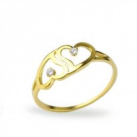 eJOYA Kalpler Altın Yüzük  HK1008