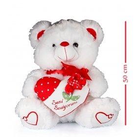 eJOYA Seni Seviyorum Kalpli Ayı 50 cm