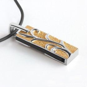 eJOYA Sette Çelik USB Kolye ve Zinciri