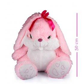 eJOYA Şirin Pembe Tavşan Peluş 50 cm