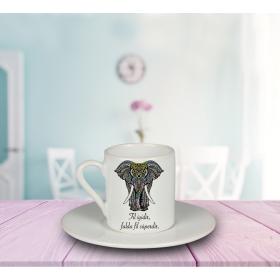 eJOYA Falda Fil Süperdir Türk Kahvesi Fincanı 80921