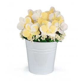 eJOYA Gifts Sarı ve Beyaz Zambaklar