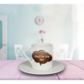 eJOYA Gönül Bir Dost İster Türk Kahvesi Fincanı 80909