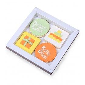 Happy Cookies Doğum Günü Kurabiye Kutusu