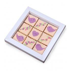 Happy Cookies Love Temalı Kurabiye Kutusu