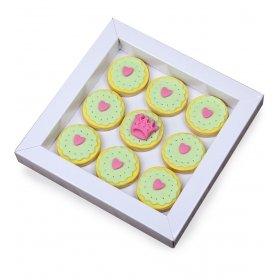 Happy Cookies Sevgili Prenses Kurabiye Kutusu