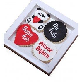 Happy Cookies Bu Kalp Senin İçin Atıyor Kurabiyeleri