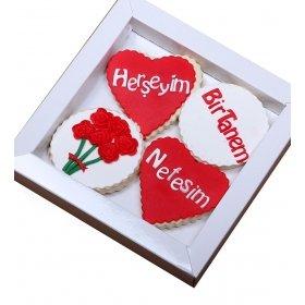 Happy Cookies Herşeyim Aşk Kurabiyeleri