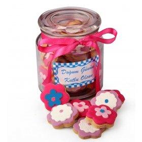 Happy Cookies İyiki Doğdun Kurabiye Çiçekleri