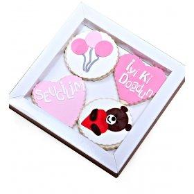 Happy Cookies İyiki Doğdun Sevgilim Kurabiyeleri