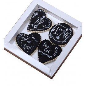 Happy Cookies Aşkın Gözü Kara Love Kurabiyeleri