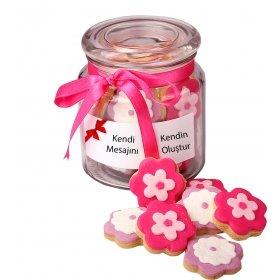 Happy Cookies Kendi Mesajını Yarat Kurabiye Çiçekleri