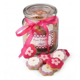 Happy Cookies Özürdilerim Kurabiye Çiçekleri