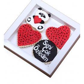 Happy Cookies Seni Çok Özledim Kurabiyeleri