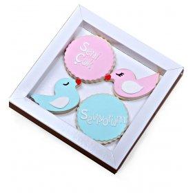 Happy Cookies Seni Çok Seviyorum Kurabiyeleri