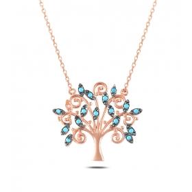 eJOYA Hayat Ağacı Gümüş Kolye 79452