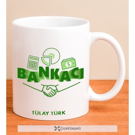 Kişiye Özel Bankacı Kupa Bardak 79923