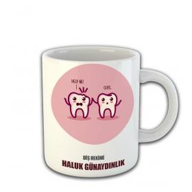 eJOYA Kişiye Özel Diş Hekimi Temalı Kupa Fincan 81467