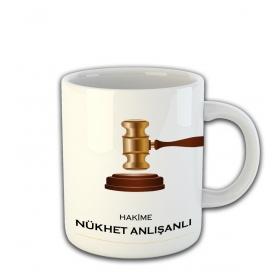 eJOYA Kişiye Özel Hakime Temalı Kupa Fincan 81452