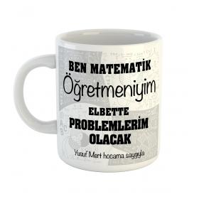 eJOYA Kişiye Özel Matematik Öğretmeni Fincan 80614