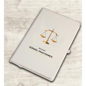 eJOYA Kişiye Özel Mesleki Avukat Temalı Defter 81343