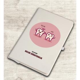 eJOYA Kişiye Özel Mesleki Diş Hekimi Temalı Defter 81360
