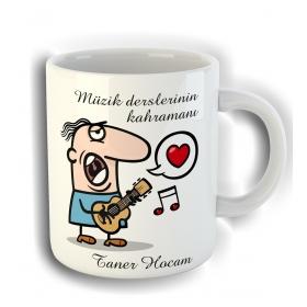 eJOYA Kişiye Özel Müzik Öğretmenleri için Kupa Fincan 80790