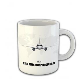 eJOYA Kişiye Özel Pilot Temalı Kupa Fincan 81477