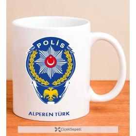 Kişiye Özel Polis Kupa Bardak 79930