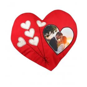 eJOYA Kişiye Özel Resimli Kalp Yastık 81304