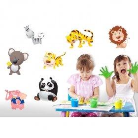 Sevimli Hayvanlar Alemi  SHA04 Duvar Sticker