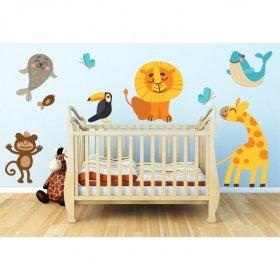 Sevimli Hayvanlar Alemi  SHA06 Duvar Sticker
