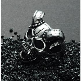eJOYA Şeytan 925 Ayar Gümüş Erkek Yüzük