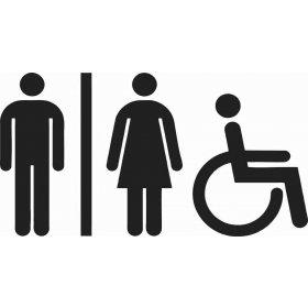 Tuvalet Banyo Sticker 78989